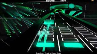 Audiosurf - Dragonforce - Through the Fire and Flames (MIDI)