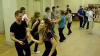 Урок хастла в Школе танцев Just Dance Club