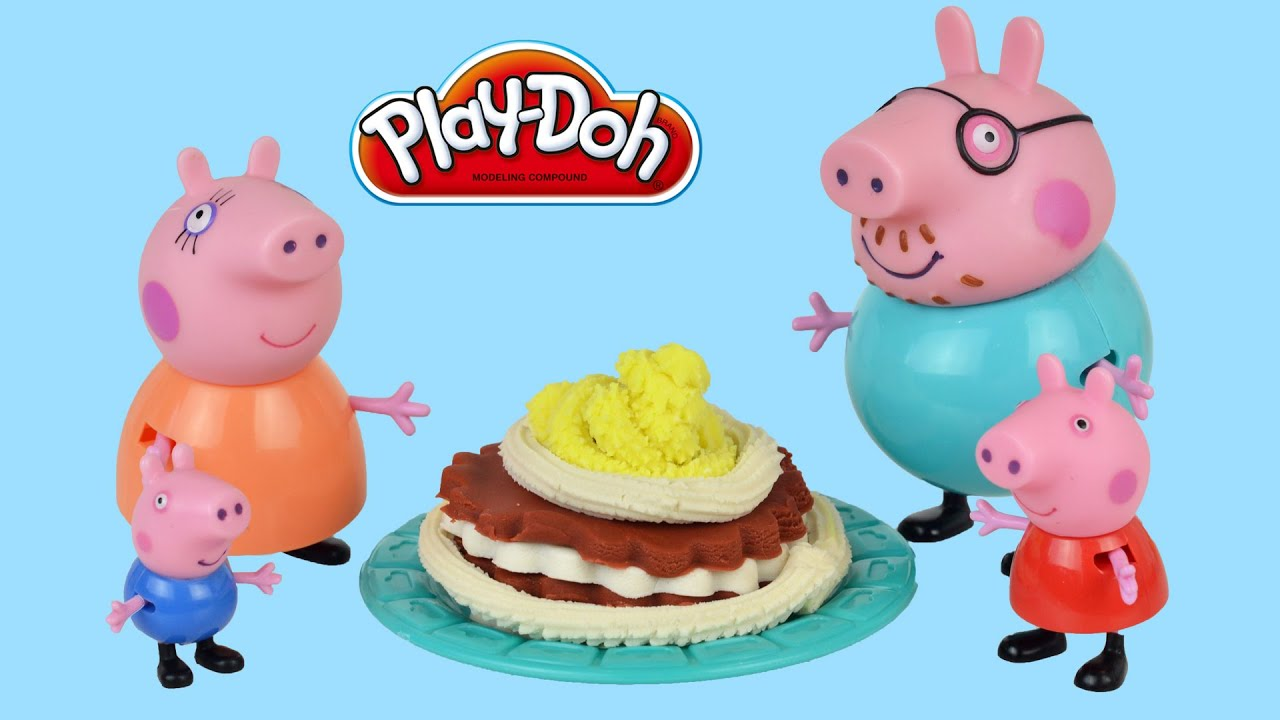 Peppa Pig Chocolate Cake Youtube