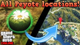All Peyote plant locations (LAND) - GTA Online guides