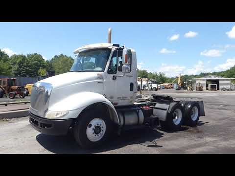 2012 International TranStar 8600 Tandem Axle Day Cab Tractor - TRO 0713202