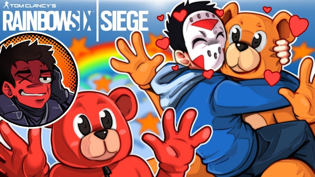 Rainbow Six: Siege - April Fools Update, Saving Mr. Bear! (Funny Moments)