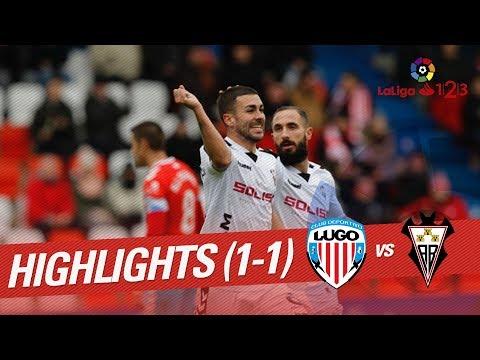 Resumen de CD Lugo vs Albacete Balompié (1-1)