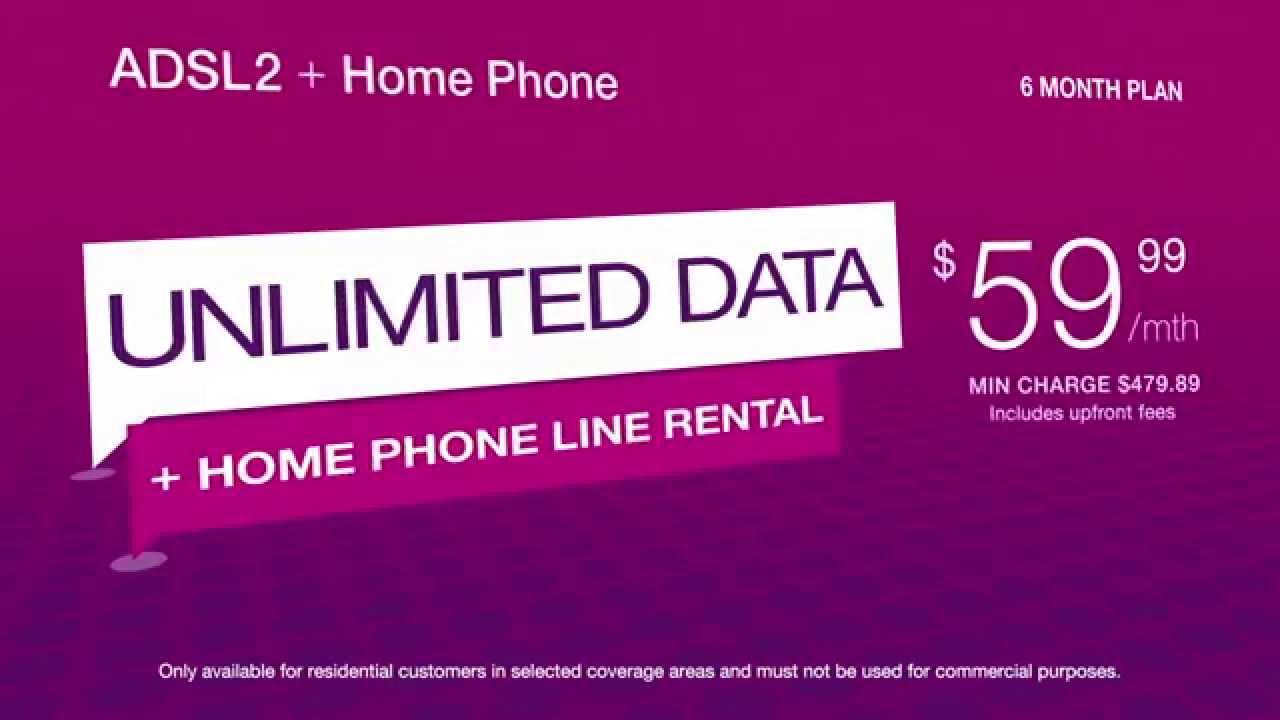 TPG ADSL2+ with Home Phone Bundle