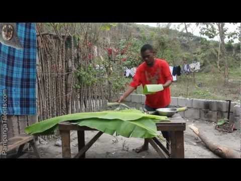 Aeta Bamboo Rice Cooking in Pampanga