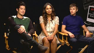 Et sat down with ross butler, alisha boe and miles heizer ahead of the may 18 release '13 reasons why' season two, streaming on netflix now.