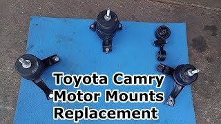 Engine & Transmission Mounts Replacement - Toyota Camry