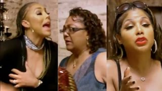 Tamar Braxton goes off on her father and his wife Wanda. DRAMATIC SCENE! streaming