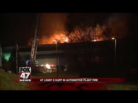 Magnesium plant fire in Eaton Rapids makes dashboards for auto industry
