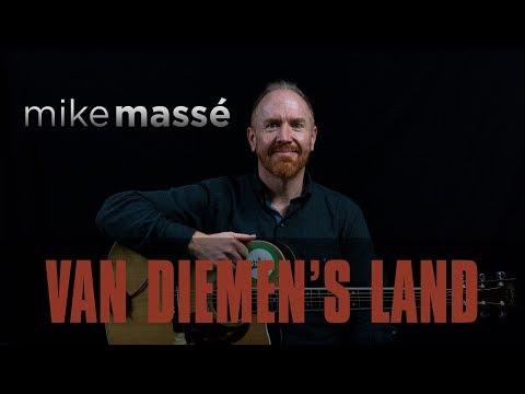 Van Diemen's Land (acoustic U2 cover) - Mike Massé