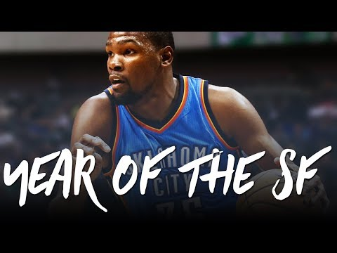 Welcome to the Year of the SF (James, Durant, Leonard, George)
