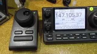 icom rc 28 remote encoder ic 7100 hamventon 2013