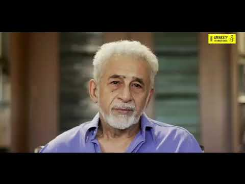 """Walls Of Hatred In Name Of Religion"": Naseeruddin Shah In Amnesty Video"