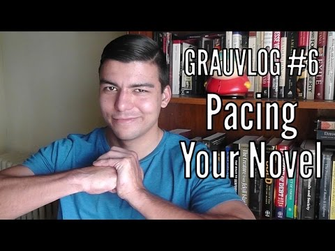 How to Pace Your Fantasy Novel (and Make It Fast!) | Grauvlog #6