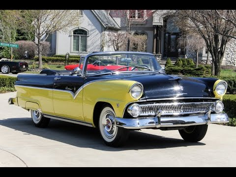 1955 Ford Fairlane Sunliner Convertible For Sale  YouTube