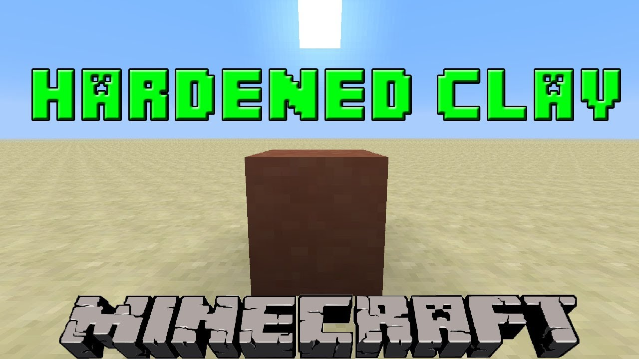 How To Make Hardened Clay in Minecraft  119.119.19 Update