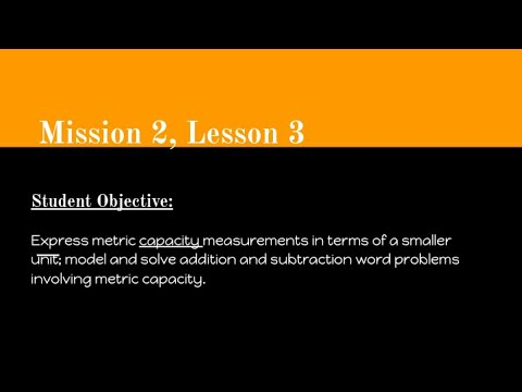 Mission 2, Lesson 3 Math Video - Carlinville Intermediate School
