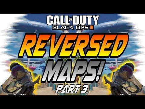 MIRRORED/REVERSED MAPS 3! - Breach, Redwood, Stronghold, Splash (Black Ops 3/BO3 Edit)
