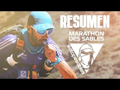 Video resumen de la Marathon Des Sables 2016