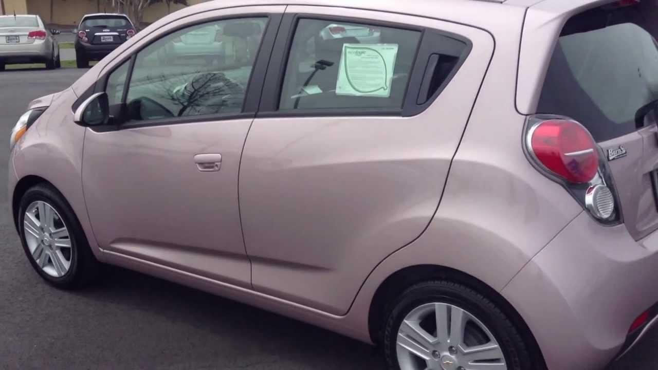 2013 Chevrolet Spark Techo Pink LS, Burns Cadillac ...