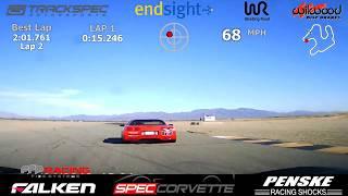 Spec Corvette @ Chuckwalla CCW 11-24-19 Race 2 (Reverse Grid)