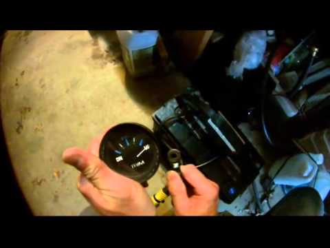 mercury outboard wiring diagram ford focus sony radio trim gauge - teleflex morse youtube