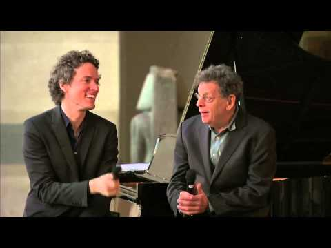 Philip Glass and Tim Fain INTERVIEW Live