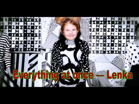 Как свистеть и играть на фортепиано песню #Lenka - Everything At Once Всё сразу Ленка