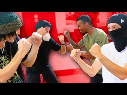 BRAILLE TEAM S.K.A.T.E. WARS! Uzi & Gab VS Nigel & Glo