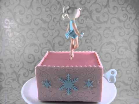 Ballerina Music Box Cake YouTube