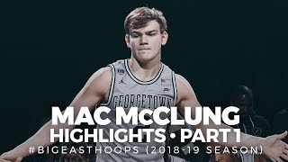 """Matthew """"mac"""" mcclung joins patrick ewing's georgetown hoyas roster. the gate city hs product along with a loaded freshman class look to support an experienc..."""