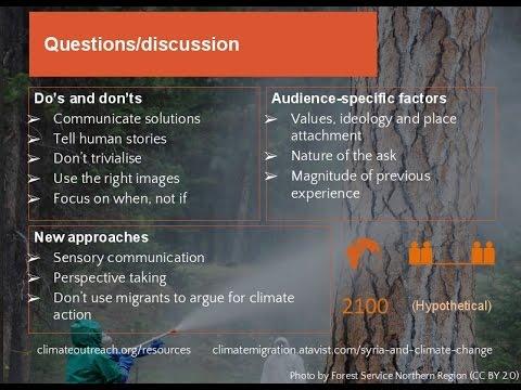 Webinar: The Psychological Distance of Climate Change. 16 June 2016