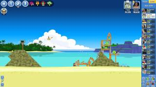Angry Birds Friends - Story Levels| Surf and Turf Level 1-6 3 STAR Walktrough Guide NO BOOSTERS