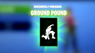 "*NEW* ""GROUND POUND"" Superhero Emote! - Fortnite DAILY ITEM SHOP [January 5] RAVAGE SKIN RETURNS!"