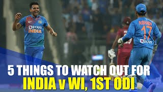 India's bench strength under the scanner | India v WI, 1st ODI preview