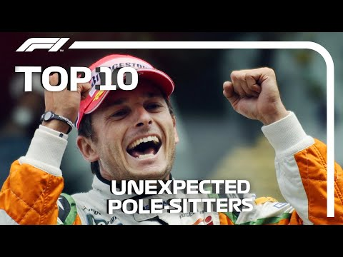 Top 10 F1 Unexpected Pole-Sitters