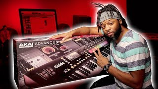 Akai Advance 61 Unboxing | MAKING MORE BEATS