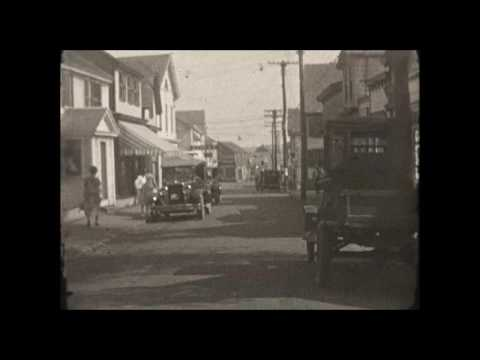 Historic Movies of Martha's Vineyard: A Tour of Edgartown in 1925