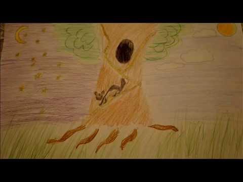 Как нарисовать у лукоморья дуб зеленый поэтапно