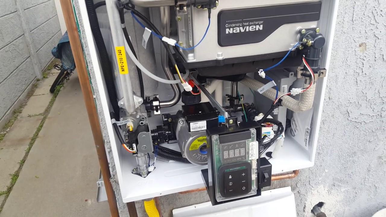 Troubleshooting Navien NPE240A Internal Recirculation Pump  YouTube