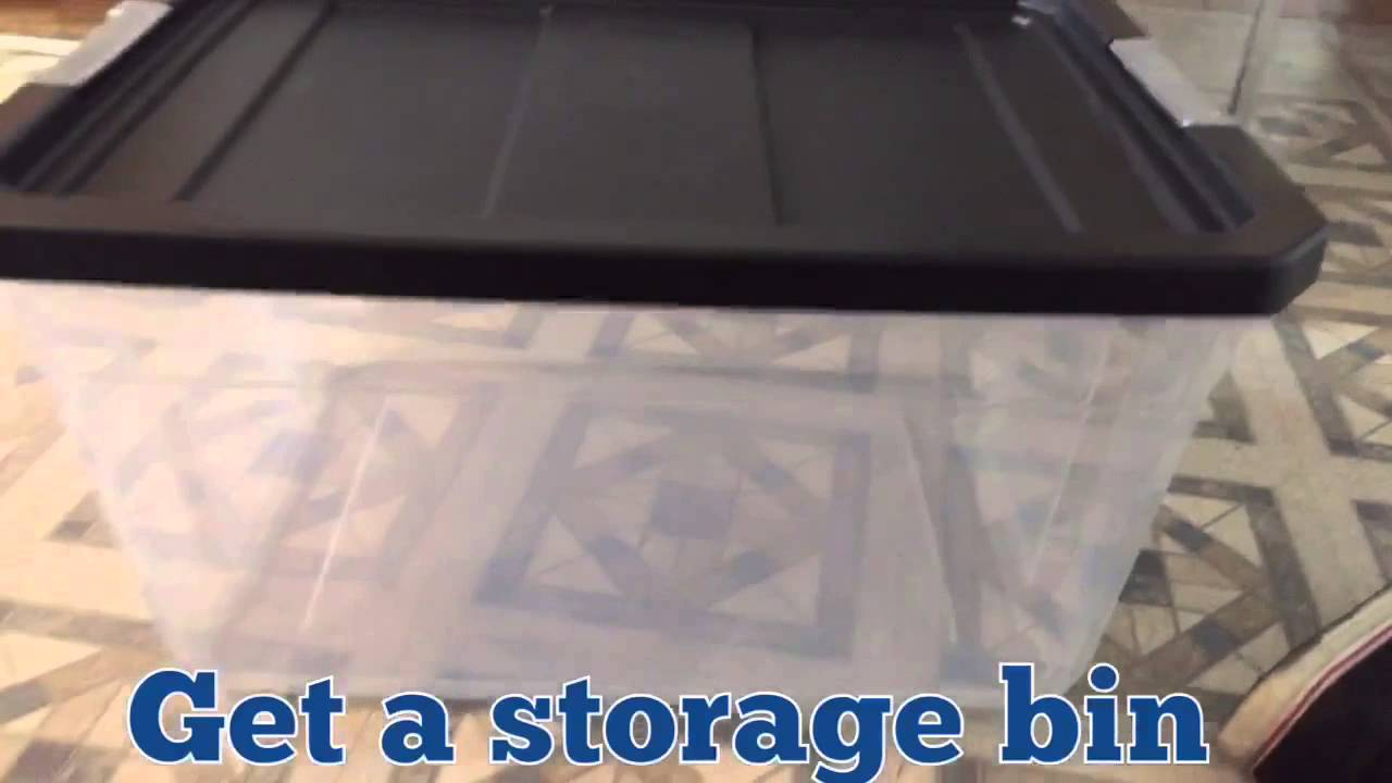 & DIY hamster bin-cage - YouTube