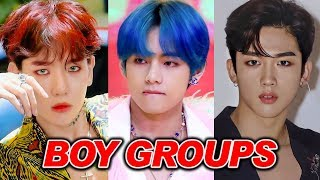 My Top 50 K-pop Boy Groups! (2019)