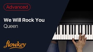 Queen – We Will Rock You  (Amazing Piano Arrangement)