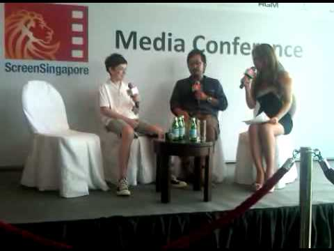 Screen Singapore Press Conference  Jesus Henry Christ Part 1 of 2