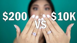 CHEAP AFFORDABLE ENGAGEMENT & WEDDING RINGS | KATE SPARKLE