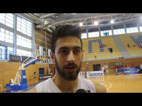 Furkan Korkmaz 2017 FIBA U20 Interview