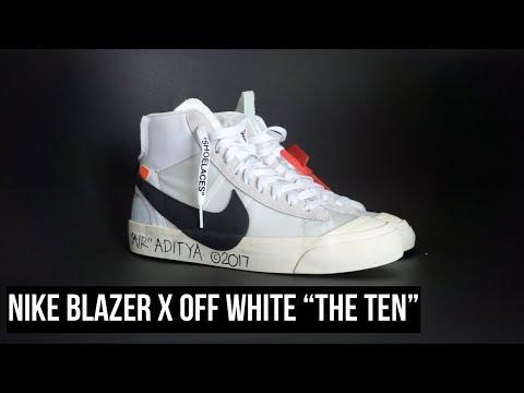 harga nike blazer off white