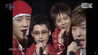 [Live] 파이브F-iv Girl [뮤직뱅크 2003년 1월 4주]