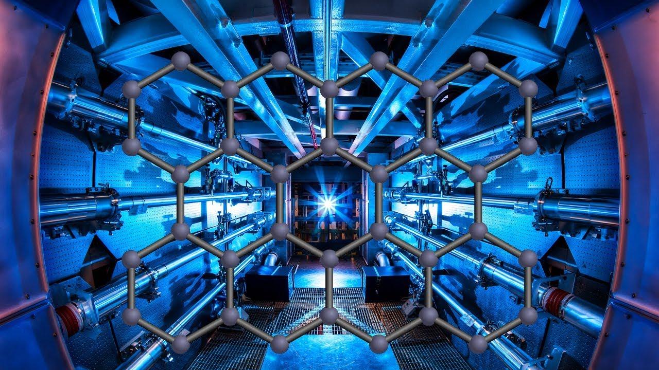 La telaraña y los nanotubos de carbono en la fusión nuclear: NIF