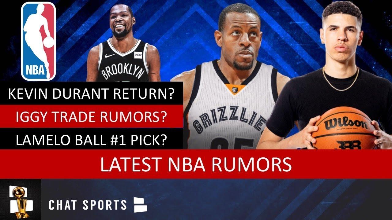Nba Rumors Kevin Durant S Return Andre Iguodala Trade Lamelo Ball 2020 Nba Draft Anthony Davis